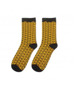 Chaussettes Vague Jap 36-41 Sockin Femme MP00000347