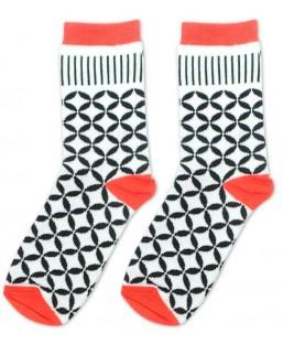 Chaussettes Carreau 36-41 Sockin Femme MP00000349