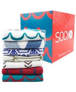 Semainier Chaussettes 36-41 Sockin Femme MP00000371