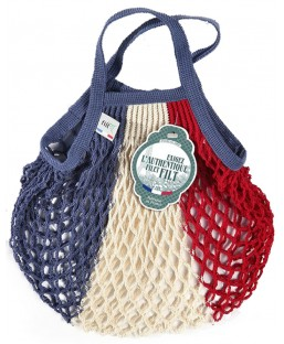 Sac Filet bleu blanc rouge 25cm Filt Maison  MP00000389