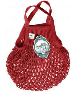 Sac Filet Rouge 25cm Filt Maison  MP00000395