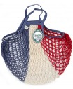 Sac Filet Bleu Blanc Rouge 40cm Filt Maison  MP00000398