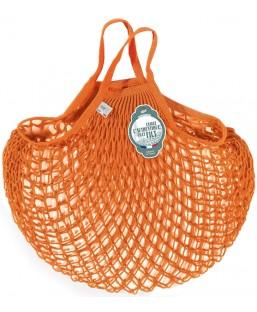 Sac Filet Orange Aztèque 40cm Filt Maison  MP00000403