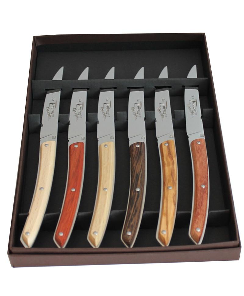 Coffret 6 couteaux de Table le Thiers Roger Orfèvre Art de la Table