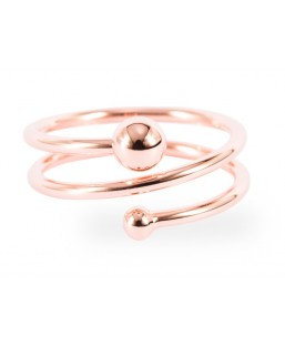 Bague Or Rose Les Partisanes Femme MP00000532