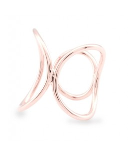 Bague Or Rose Ajustable Les Partisanes Femme MP00000540