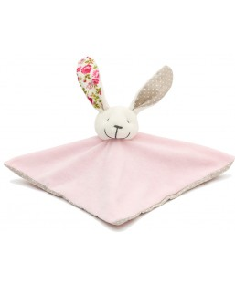 Doudou Lapin Carré Esprit Liberty Margotte Tournicotte Enfant MP00000569