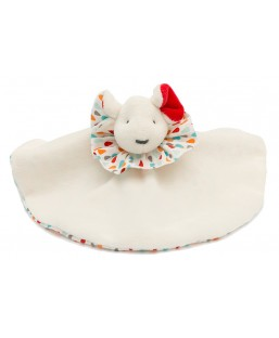 Doudou Souris Pierrot Plumi Margotte Tournicotte Enfant MP00000577