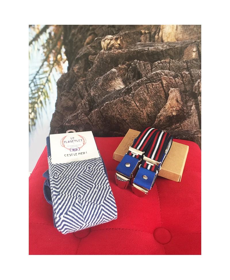 le cadeau Hubert pour homme des bretelles et des chaussettes d931dca3dee