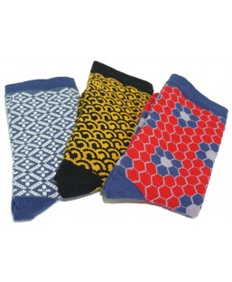 3 paires de chaussettes hiver 1 Sockin Coffrets  MP00000594