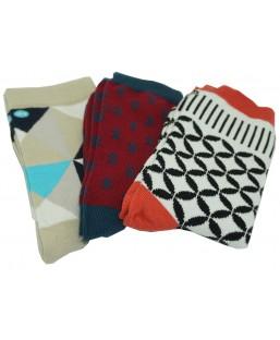 3 paires de chaussettes hiver 2 Sockin Coffrets  MP00000595
