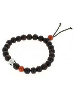 bracelet bois zen brique Bô-bijoux Bijoux MP00000101