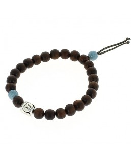 bracelet bois zen bleu ciel Bô-bijoux Bijoux MP00000104