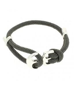 Bracelet ancre double Plomb Bô-bijoux Bijoux MP00000112