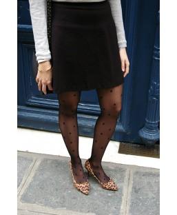 Collant 20D à motifs étoile Jolie Frenchy Femme
