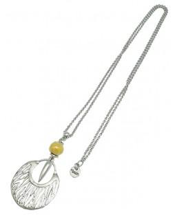 Sautoir savane jaune Baïn Création Bijoux MP00000085
