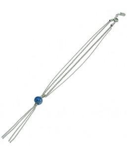 collier court double bleu Baïn Création Bijoux MP00000209