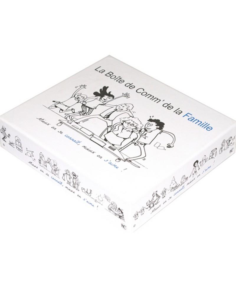 la boite de comm' de la famille Les boites de comm Maison