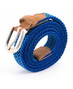 ceinture tressée bleu,blanc Vertical l'Accessoire Femme