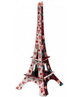 Tour Eiffel Coeur 18 cm La plume de Louise Maison