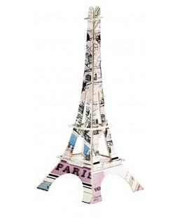 Tour Eiffel plan de Paris 18 cm La plume de Louise Maison
