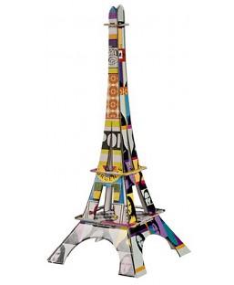 Tour Eiffel Typo 37 cm La plume de Louise Maison