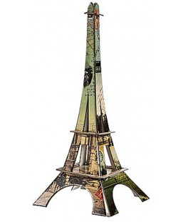 Tour Eiffel Vieux Paris 37 cm La plume de Louise Maison