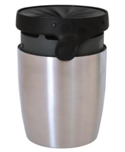 Mug Isotherme 200ml Steel Twizz Moka Néolid Art de la Table MP00000322