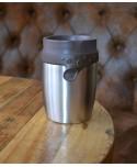 Mug Isotherme 200ml Steel Twizz Cappuccino Néolid Art de la Table MP00000323